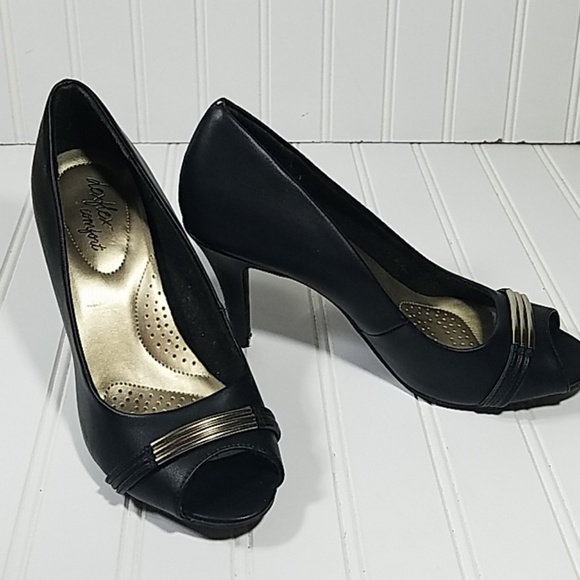 Deflex Comfort Shoes   Comfort Black